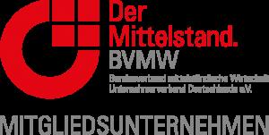 Hier steht das Logo des BVMW - des Bundesverbandes mittelständische Wirtschaft.