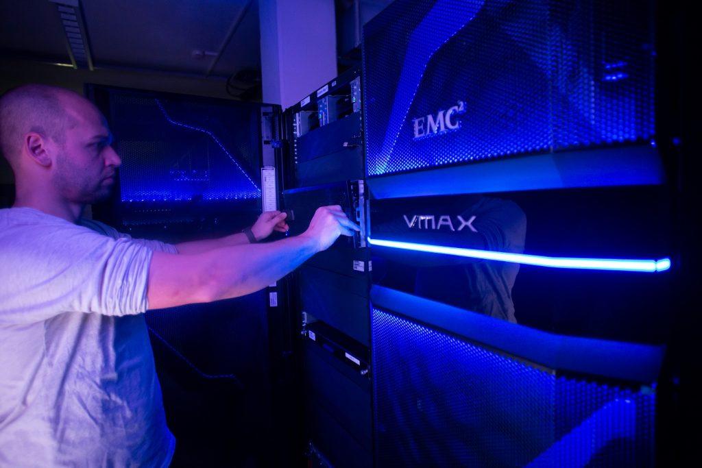 Unser Rechenzentrum verfügt über hochwertige Server.