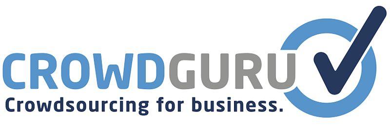 Hier sehen Sie das Logo der Firma Crowd Guru mit Sitz in Berlin.