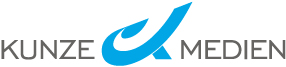 Hier sehen Sie das Logo von Kunze Medien - die Marketinghilfe für den Klein- und Mittelstand.