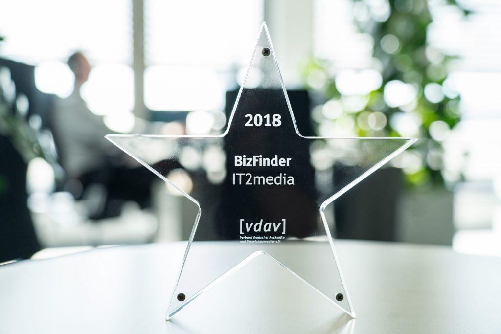 Der vdav verleiht in jedem Jahr einen Award in Sternform für Innovation und Technik.