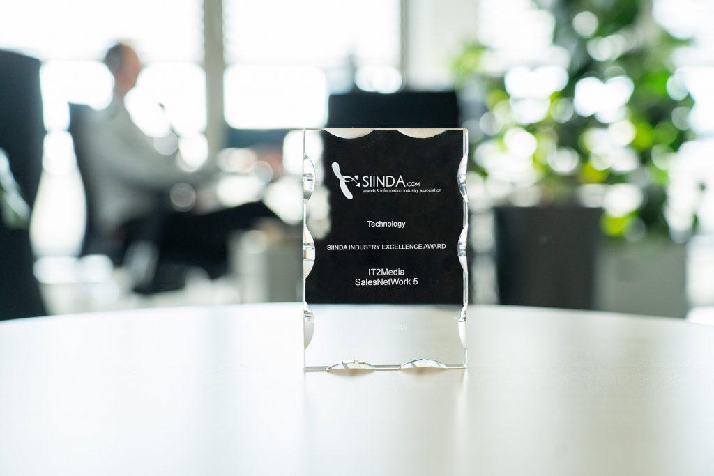 Award Siinda Star Technology für unser Datenqualitätsmanagement-Tool DPS